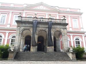 Museu Imperial reabre nesta quarta-feira (11) em Petrópolis (Foto: Andressa Canejo/G1)