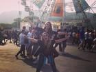 Famosos marcam presença no quinto dia de Rock in Rio