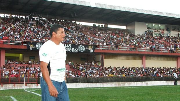 Lúcio Santarém é a aposta do São Raimundo (Foto:  Alailson Muniz/Agência Amazônia)