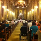 Catedral teve missa por vítimas (Luiza Carneiro/G1)