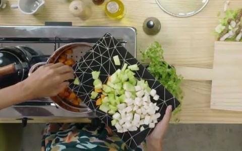 Como fazer salada de maionese de abacate