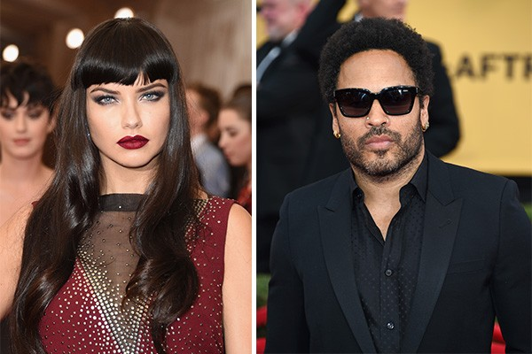 Adriana Lima e Lenny Kravitz (Foto: Getty Images)
