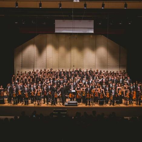 Orquestras Juvenil da Bahia e Castro Alves (Foto: Taylla de Paula/ Divulgação)