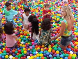 evento divulgação saltos ornamentais (Foto: GloboEsporte.com)