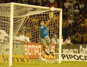 Goleiro Alê, Bragantino (Foto: Aldo Carneiro/GLOBOESPORTE.COM)