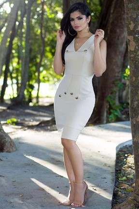 Isabele Temoteo em ensaio de moda (Foto: Divulgação)