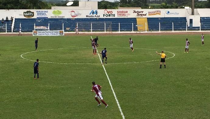 Osvaldo Cruz x Vocem (Foto: Murilo Rincon / GloboEsporte.com)