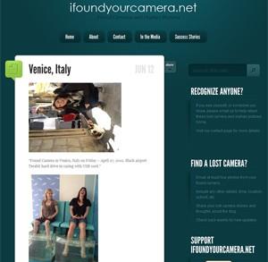 Site I Found Your Camera mostra fotos encontradas em uma câmera perdida na Itália (Foto: Reprodução)