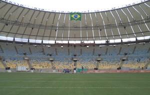 Obra do Maracanã (Foto: Reprodução da TV)