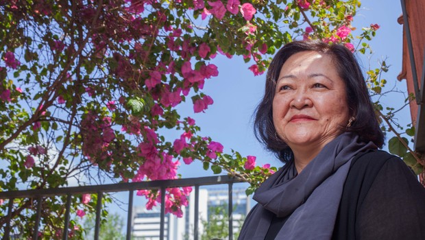 Angela Hirata, presidente da Japan House São Paulo (Foto: Rogério Cassimiro)
