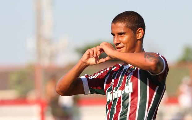 Michael gol Fluminense (Foto: Photocâmera)