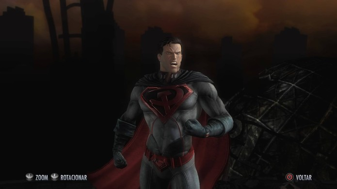 Superman de A Foice e o Martelo em Injustice (Foto: Reprodução/Felipe Vinha)