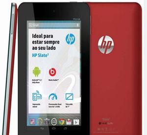 Tablet Slate 7, da HP (Foto: Divulgação/HP)