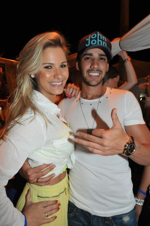 Andressa Suita e Gusttavo Lima  (Foto: Cassiano de Souza )