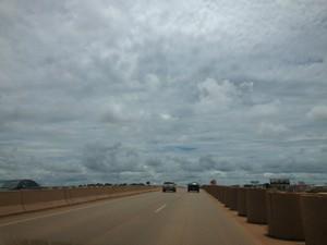 Dia será de nuvens em Porto Velho (Foto: Vanessa Vasconcelos/G1)