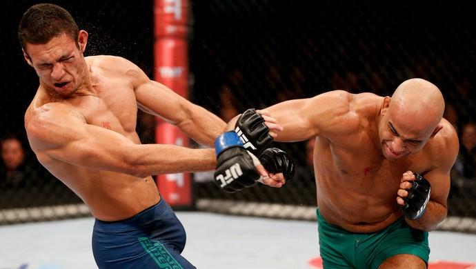 Warlley Alves x Marcio Lyoto UFC (Foto: Getty Images )