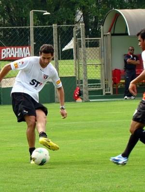Ganso no treino do São Paulo (Foto: Site oficial do São Paulo FC)