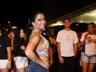 Mal-estar tira Dani Sperle de escola de samba em São Paulo