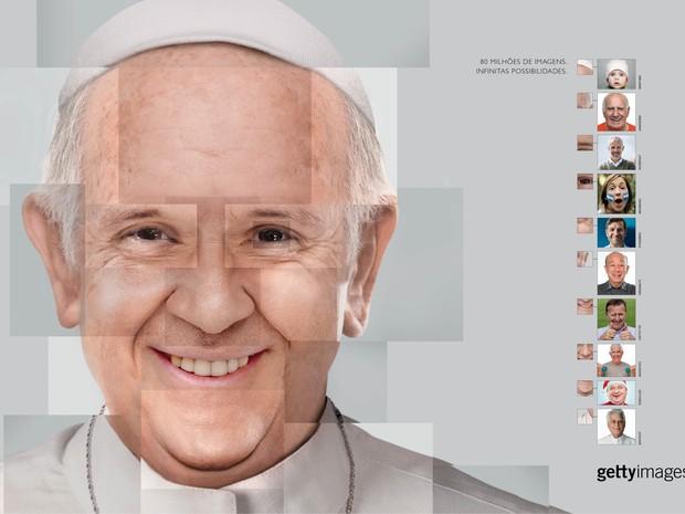 Campanha da AlmapBBDO reconstrói rostos de líderes globais sem utilizar uma única foto deles (Foto: Divulgação)
