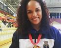 Após ficar fora do pódio no Rio, Aline Silva conquista o bi do Mundial Militar