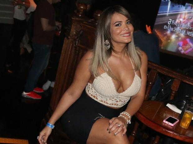 Geisy Arruda em show em São Paulo (Foto: Danilo Carvalho/ Ag. Fio Condutor/ Divulgação)