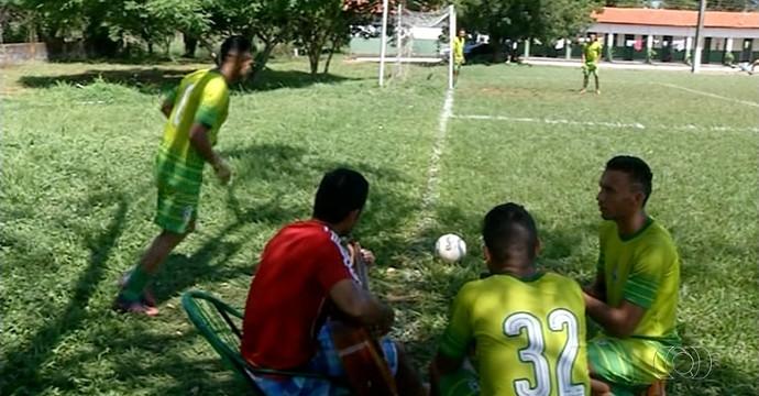Folga time do TEC  (Foto: Reprodução/TV Anhanguera)