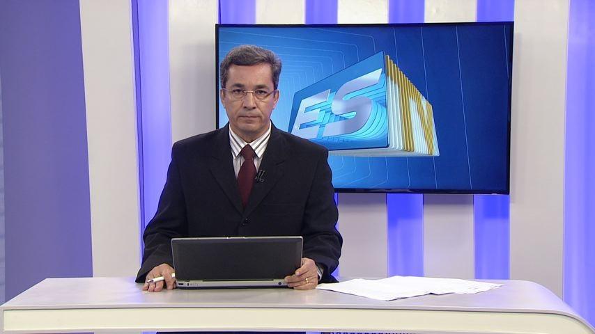 Ted Conti no ESTV 2ª Edição (Foto: Divulgação/ TV Gazeta)