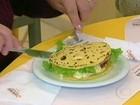 X-polenta é a novidade culinária de festa do milho em Santa Catarina