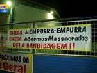 Protesto por segurança paralisa transporte coletivo em Rio Grande