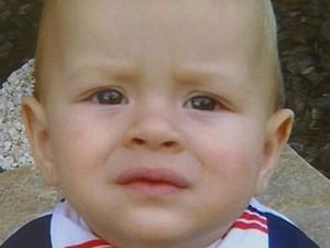 Miguel, de 1 ano, morreu por meningite em Franca, Sp (Foto: Alexandre Sá/EPTV)