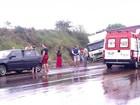 Colisão entre carro e caminhão mata 2 pessoas em Santo Ângelo, no RS