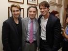 Eike Batista vai com os filhos Thor e Olin a prêmio no Rio