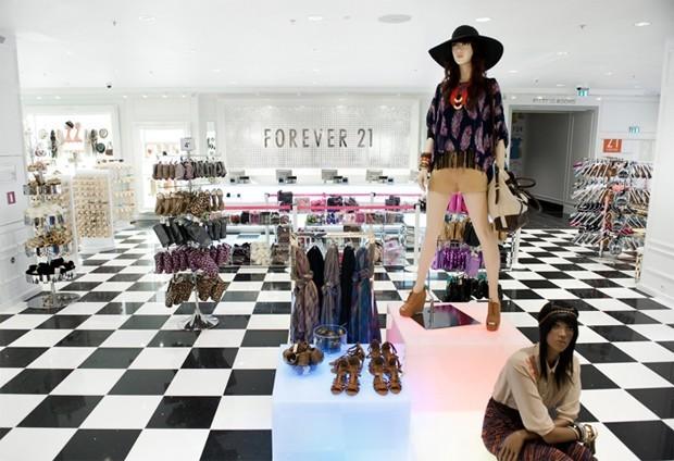 Loja da Forever 21 em Miami (Foto: Divulgação)