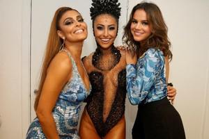 1ª noite tem Juliana Paes, Sabrina Sato e Bruna Marquezine juntas (Felipe Panfili/AgNews)