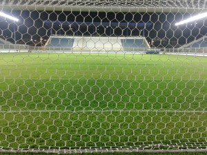 Gramado do Estádio Moacyrzão, em Macaé, em junho de 2013 (2) (Foto: Júnior Costa)