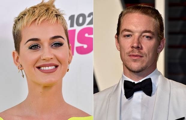 Katy Perry e Diplo (Foto: Getty Images)