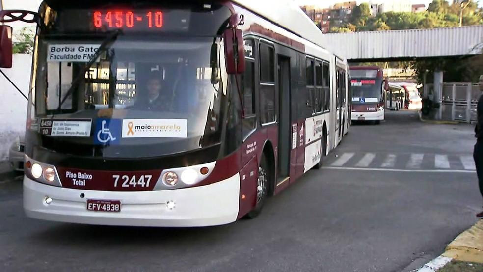 Ônibus  (Foto: Reprodução/TV Globo)