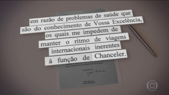 José Serra pede demissão do Ministério das Relações exteriores