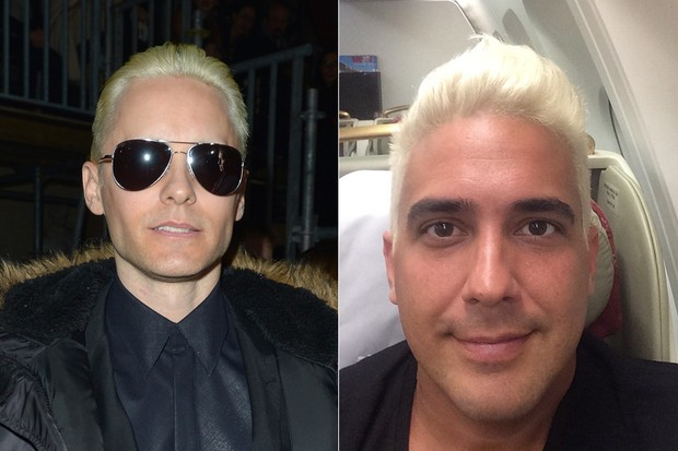 Jared Leto / André Marques (Foto: Agência Getty Images / Instagram)