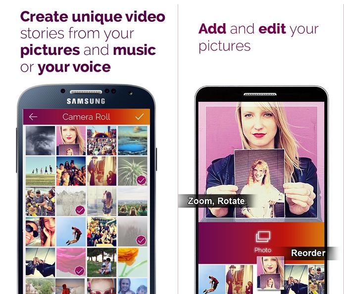 Pic Motion é um aplicativo para criar vídeos com fotografias (Foto: Divulgação/Pic Motion)