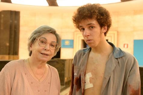 Beatriz Segall e João Côrtes (Foto: Zé Paulo Cardeal/TV Globo)