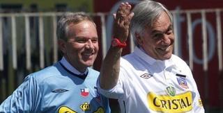 Ex-presidente do Chile é torcedor da Católica, mas investiu nas ações do Colo-Colo (Foto: Reprodução)