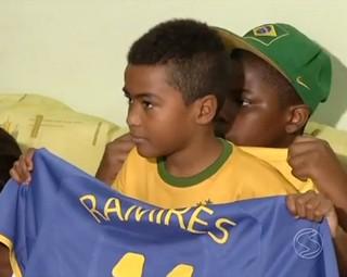 Ramires foi convocado para a Copa do Mundo 2014 (Foto: Reprodução: RJTV 2ª Edição)