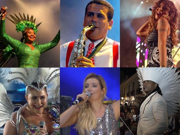 Vários artistas vão animar os foliões no desfile do Galo (Foto: Divulgação)