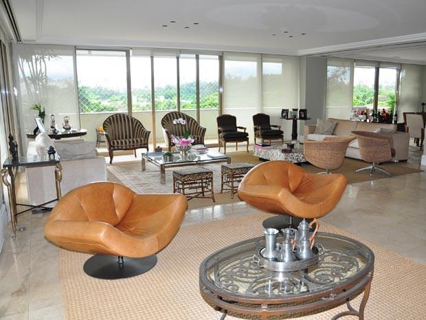 Apartamento na Vila Nova Conceição, à venda por R$ 11 milhões na Coelho da Fonseca, tem mais que o dobro do tamanho do imóvel do Rio (Foto: Divulgação)