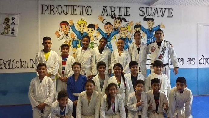 judô, jiu-jitsu, projeto arte suave, ceará (Foto: Divulgação)