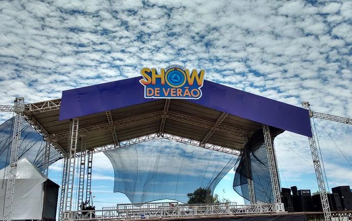 Palco Show de Verão 2016 (Foto: Suelen Frigo/ TV Morena)