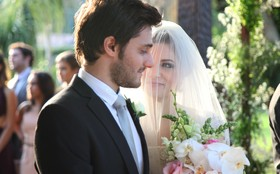 Micaela é eleita a noiva mais estilosa do 'casamento triplo'