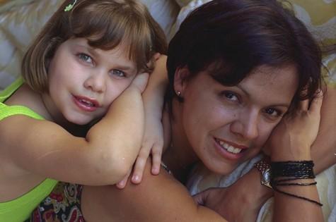 Thais Müller e a mãe, Marcella Muniz (Foto: Camilla Maia)