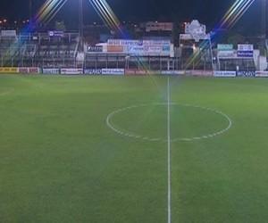 Estadio dos Amaros (Foto: Reprodução/RBS TV)